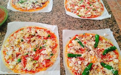 pizza-vegetariana-casera