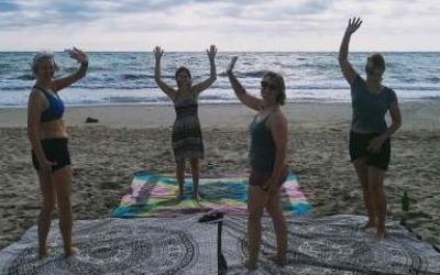yoga-at-the-beach